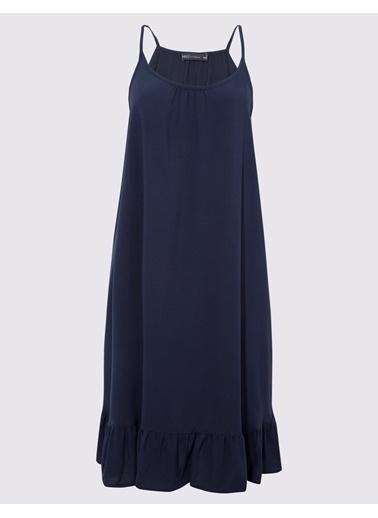 Marks & Spencer Askılı Plaj Elbisesi Lacivert